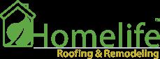 Homelife Roofing & Remodeling Logo